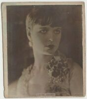 Louise Brooks vintage 1920s Super Cigarrillos Film Star Tobacco Card #O-10