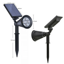 Lampe Panneau Solaire Led Étanche Ip65 Éclairage Extérieur Luminaire Mur Jardin