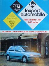 Revue technique NISSAN MICRA 93 3 et 5 portes 1.0 et 1.3 EXPERT N° 314 1993