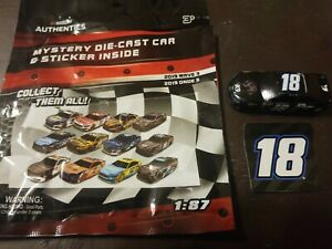 Nascar Authentics 1/87 with sticker # 18