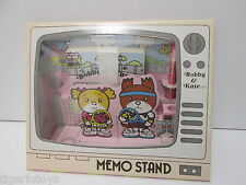 BOBBY E KATE  MEMO STAND  MEMO PENCIL  RIBBON 1981