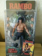 JOHN J RAMBO ACTION FIGURE Reel Toys NECA First Blood Part 2 rare Stallone oop