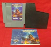 IronSword  Iron Sword Nintendo NES Game, Manual Dust Cover Rare Tested Authentic