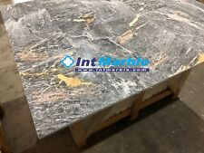 Marble Tile, Grey Saint Laurent Polished Marble Tiles, 305x610x12mm Travertine
