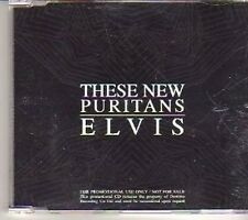 (CT643) These New Puritans, Elvis - 2007 DJ CD