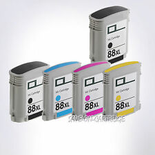 5 PK 88XL Ink For HP 88XL Officejet Pro L7680 L7681 L7700 L7710 L7750 L7780