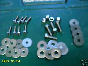 Stainless Steel Beetle Running Board  bolt Kit