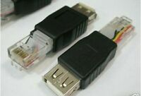 1x USB Female to Ethernet RJ45 Cat5 Booster Router Wireless Network Adapter,8#