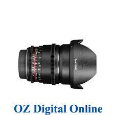 New Samyang 16mm T2.2 ED AS UMC CS VDSLR for Canon 1 Yr Au Wty