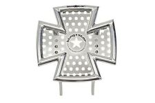 BLINGSTAR IRONCROSS FRONT ALUMINUM POLISHED BUMPER YAMAHA RAPTOR 700 700R