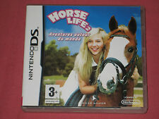 HORSE LIFE 2 - AVENTURE AUTOUR DU MONDE (Equitation)  Jeu DS  Complet