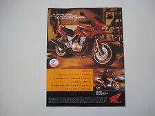 advertising Pubblicità 1998 MOTO HONDA CB 500 S