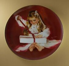 Children at Christmas A GIFT FOR LAURIE Plate #1 Donald Zolan Pemberton & Oakes