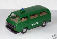 MICRO HERPA HO 1/87 VW VOLKSWAGEN MINI BUS POLICE