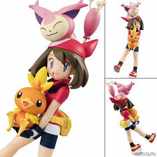 Pokemon Pocket Monster Character Figure Toy May Torchic Collection Doll 12CM