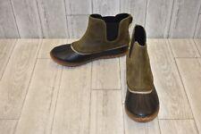 Sorel Chelsea Duck Boots - Women's Size 12, Olive/Black