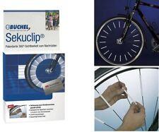Büchel 72 Stück Sekuclip Scotchlite 3M Speichenreflektoren Speichenstrahler