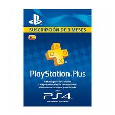 Tarjeta Sony PSN Plus 90 Dias