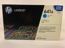 HP LaserJet 641A Cyan Toner Cartridge C9721A Brand New for 4600, 4610, 4650