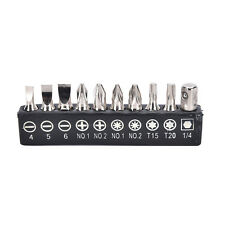 Electric Screwdriver Multi-Functional Versatile  Set 10pcs Alloy Steel Bits NG