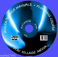 1700 + GAS CALDAIA Service & dati manuali di riscaldamento / idraulica e docce ETC PC DVD