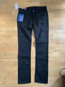 ACNE STUDIOS MAX STAY BLACK JEANS SS18 W34 L34 BNWT 100% AUTHENTIC RRP £170