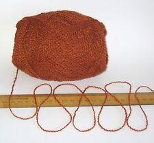 100g Burnt Orange 100% pure wool knitting yarn 4 ply Great for knit Felting felt