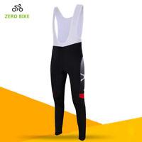 Men's 3D GEL Padded MTB Cycling Bicycle Bike Bib Pants Braces Pants Tights M-XXL