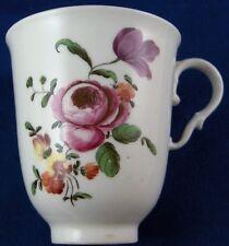 Antique 18thC Royal Vienna Porcelain Floral Chocolate Cup Porzellan Wien #3