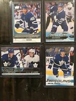 Big Lot Of 4 Upper Deck Toronto Maple Leafs Young Guns 2016-20