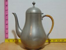 Royal Holland KMD Tiel Coffee Tea Pot Wrapped Handle