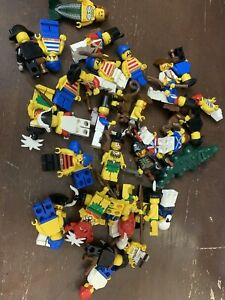 BIG Lego pirates 38 MiniFigures Islanders / imperial officers lot