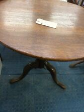 Oak Occasional Table (with photos of Lady Diana, Princess of Wales using it)