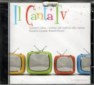 GIOVANNI CAVIEZEL ROBERTO PIUMINI - IL CANTATV - CD NUOVO SIGILLATO