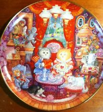 Whisker Wuv by Bill Bell Plate No. Jd1523 Franklin Mint Heirloom Used