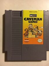 Caveman Games (Nintendo Entertainment System NES, 1990) - Cleaned And Tested