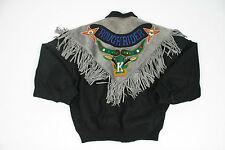 Para hombres De colección Kansai Yamamoto O2 Rancho ante gris chaqueta tamaño mediano Reino Unido