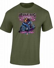 Bikers Against Breast Cancer T-SHIRT Fight For A Cure Hope Matters Chopper Shirt