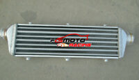 450x170x65mm Universal Aluminum Turbo tube Intercooler 2.2'' 57mm inlet/outlet