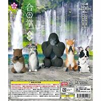 Ale Gassho 4 worship Gashapon 5 set mini figure capsule toys