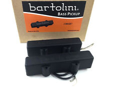 Bartolini 9J Single Coil Pickup Set for 4-string Fender Jazz/J Bass® PU-1220-023