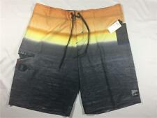 New O'NEILL EPIC FREAK Fog Bank Surf Boardshorts Black Sz 38 Free Shipping