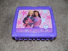 Vintage Plastic Lunch box With Thermos Barbie My Wonderful Friend