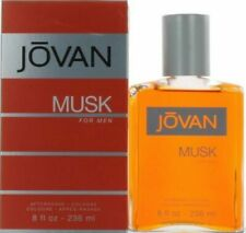 Jovan Musk by Coty 8.0 oz/236 ml After Shave Cologne for Men - New in Box