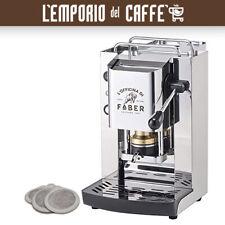 Macchina Caffe Cialda 44mm Faber Slot Total Inox Pro Telaio in Acciaio No Vapor