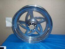Harley Shovelhead Ironhead Sportster Chrome Akront Rear Wheel 18x4.25 73-83