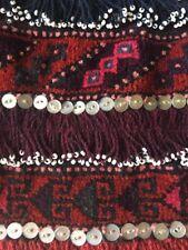 Tribal Middle Eastern Turkish Persian Vintage Bakhtiari Woven Salt Bag ?Kilim ?