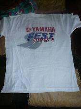 yamaha vintage t shirt yamaha fest 2001 misano taglia xl per collezionisti