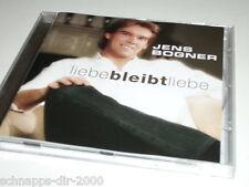 JENS BOGNER LIEBE BLEIBT LIEBE CD MIT BRING LISA MIT - ZEIT ZU LEBEN - GANZ EGAL