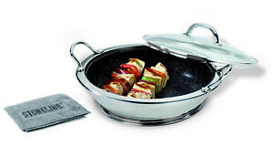 Stoneline Professional Serving Wok 30cm with Magnetic Coaster